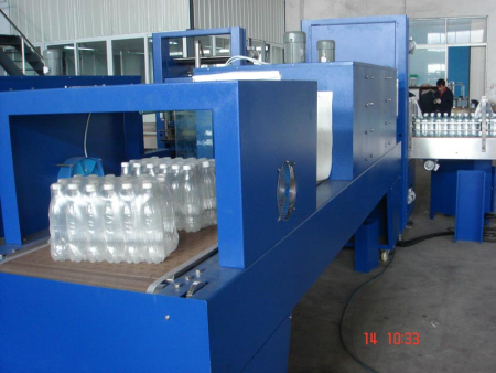 18000CPH PE Film Shrink Wrapping Machine & Carton Packing Machine